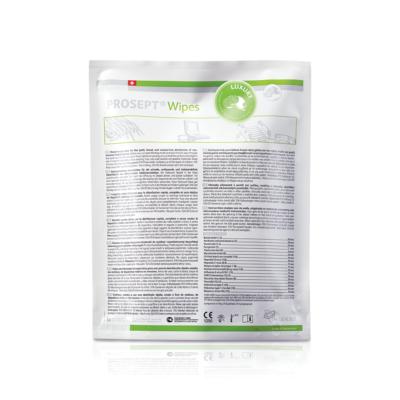 Szybka i łatwa dezynfekcja w gabinecie stomatologicznym lub placówce medycznej - chusteczki dezynfekcyjne PROSEPT WIPES